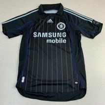 Adidas CFC Chelsea Football Soccer Club Jersey Samsung Mobile Black Small - $22.95