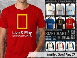 NEW T shirt National Geographic Live & Play Many Color & Design Option - $10.99+
