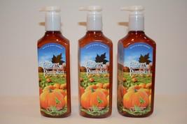 3 Bath & Body Work Sweet Cinnamon Pumpkin DEEP CLEANSING Hand Soap 8 OZ NEW - $16.14
