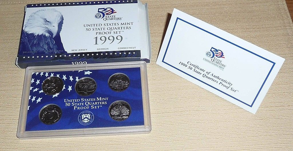 FREE SHIPPING 1999-S Pennsylvania Clad  Proof State Quarter PCGS PR69DCAM
