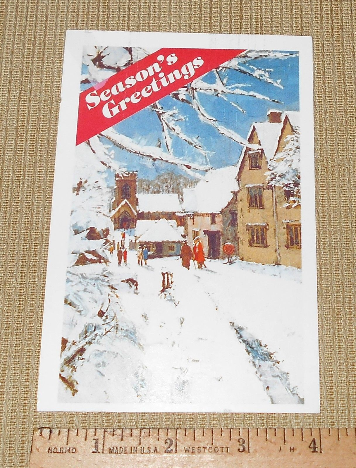 Reader's Digest Gift Postcard w/13c Presorted 1st Class Coil Stamp Not Cancelled