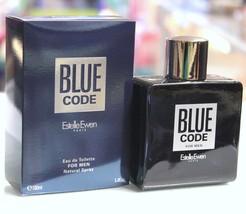 Blue Code by Estelle Ewen for Men 3.4 fl.oz / 100 ml eau de toilette spray - $34.98