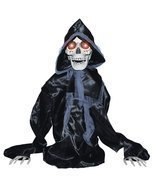 Rising Black Reaper Halloween Prop - $61.23