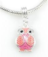Charm Central Mixed Color Enamel Owl Pendant - Five Charm Pendants for C... - $34.56