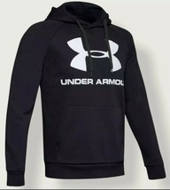 UNDER ARMOUR Men Rival Fleece Hoody Hoodie Sweatshirt Black M NEW NWT - $30.00
