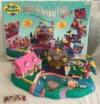 Vintage 1996 Polly Pocket Magical Moving Pollyville Playset COMPLETE in Box - $128.69