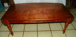 Mid Century Light Cherry Dropleaf Coffee Table  (RP) - $499.00