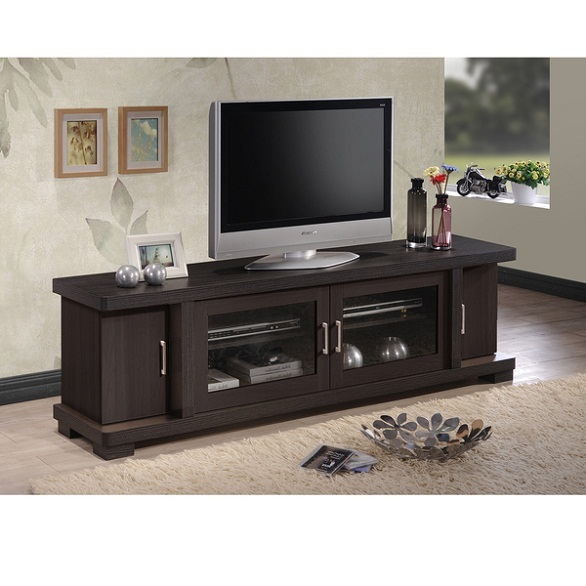 flat screen tv stand wood cabinet 70 inch brown storage dresser unit entertainment units tv. Black Bedroom Furniture Sets. Home Design Ideas