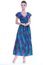 Hula Hula Batik's Women's Hawaiian Maxi Rahee D... - $45.60