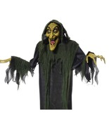 """Halloween Decoration Spooky Witch Hanging Prop Animated 72"""" Holiday Part... - $58.88"""