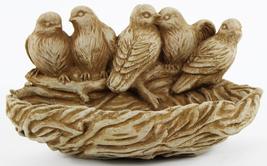 Bird Nest Feeder Concrete Wall Plaque - $69.00