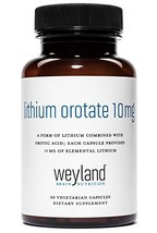 Weyland: Lithium Orotate 10mg 1 Bottle