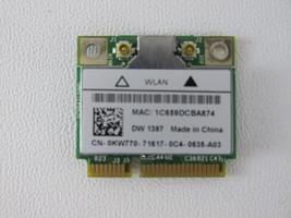 Dell True Mobile 1397 802.11 b/g Wireless WiFi Card Mini-PCI Express Car... - $3.41