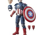 Marvel Legends Series 12-inch Captain America - 30 plus points of articulation