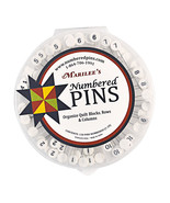 Marilee's Numbered Pins Organize Quilt Blocks, Rows & Columns - $45.25