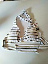 Ralph Lauren White Swim Wear Bra Size 6 image 1