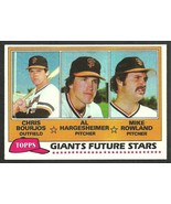 San Francisco Giants Future Stars Bourjos Al Hargesheimer Rowland 1981 T... - $0.50