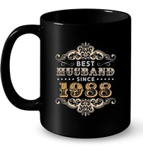 30th Wedding Anniversary Gift 30 yrs Best Husband Since 1988 Gift Coffee... - $13.99+