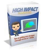 High Impact Communication - ebook - $0.69