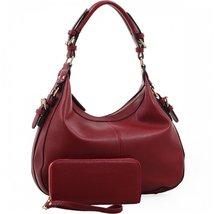 Chloe Lock and Key Concealed Carry Gun Pocket Soft Leather Purse Handbag... - $69.29