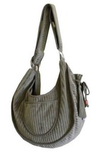 PetFlys PRIVATE STRIPES Puppy Sling Pouch Carrier * Dog Cat Pet Tote Tra... - $89.09