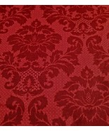 Rusty Red, Per Yd Marcus, Damask Floral, French... - $9.88