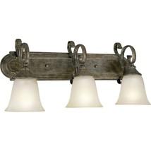 Old World Bathroom Vanity Light Fixture Bath Progress Lighting P2962-87 - $127.71