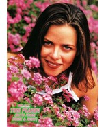 Toni Pearen teen magazine pinup clipping Home and Away in pink flowers B... - $1.50