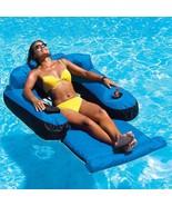 Swimline Ultimate Floating Lounger zippered pocket Includes drink holder - $79.95