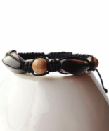 Brown Wooden Unisex or Mens Bracelet - $27.90
