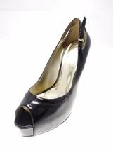 GUESS High Platform Open Toe High Heels Black Size 7.5 M - $19.34