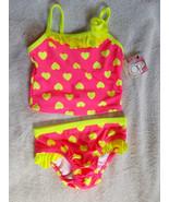 OP 2-Piece Tankini Swimsuit Little Girls size 1... - $14.85