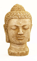 Buddha Head Concrete Ornament Statue - $64.00