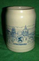 Vintage Löwenbräu Stoneware German Oktoberfest ... - $9.95