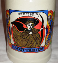 Vintage Sagittarius Heavy Thick Stoneware  Cera... - $9.95