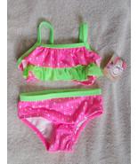 OP 2-Piece Bikini Swimsuit Little Girls size  3... - $14.85