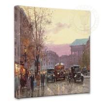 Thomas Kinkade Paris Twilight 14 x 14 Gallery Wrapped Canvas - $89.00