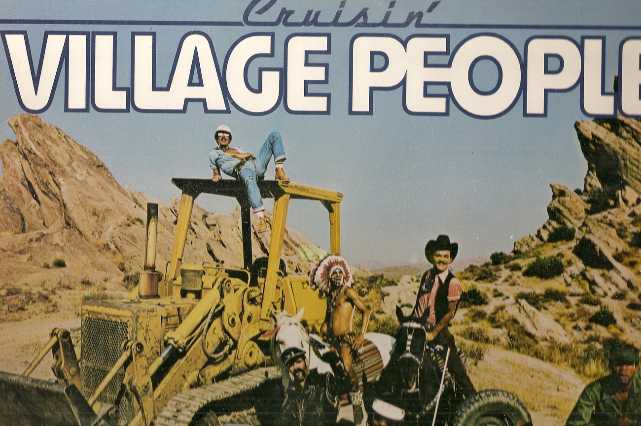 LP--Village People 	-	 Cruisin'