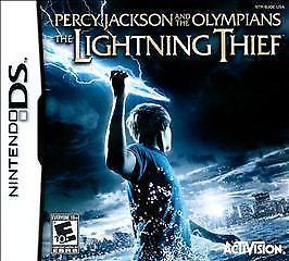 Primary image for (Nintendo DS) Percy Jackson and the Olympians: The Lightning Thief  Free Ship