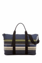 SPLENDID Monterey Weekender Tote NAVY STRIPE Bag 4MTY33LN - Free Shipping - $110.20