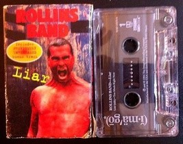 ROLLINS BAND - Liar / Too Much Right Now CASSETTE  - $7.00