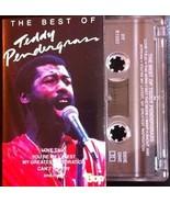 TEDDY PENDERGRASS - The Best Of CASSETTE  - $5.00