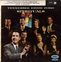 "TENNESSEE ERNIE FORD - Spirituals (Part 2) 7"" 45 RPM Vinyl - $7.99"