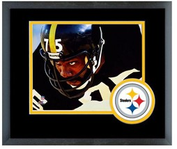 "Joe Greene Pittsburgh Steelers Eye Contact - 11"" x 14"" Matted and Framed Photo  - $43.55"