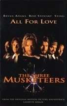V/A - All for Love -The Three Musketeers CASSETTE  - $3.28