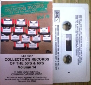 V/A - Collector's Records Of The 50's And 60's Vol. 14 CASSETTE