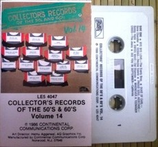 V/A - Collector's Records Of The 50's And 60's Vol. 14 CASSETTE  - $5.00