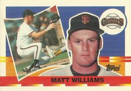 1990 Topps Big #96 Matt Williams	 - $0.50