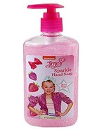 Jojo Siwa Berry Sweet Scent Pink Sparkle Hand Soap 8 fl oz Berry for gir... - $3.99