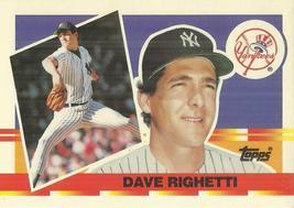 1990 Topps Big #102 Dave Righetti - $0.50